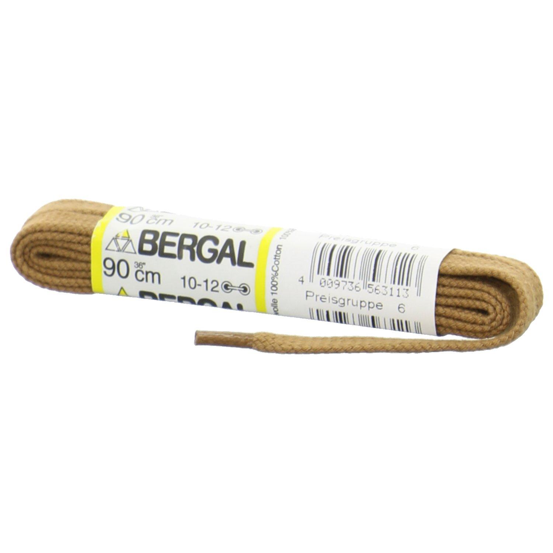 1 Paar Bergal Schnürsenkel schwarz - flach - 7,0 mm breit 8856171