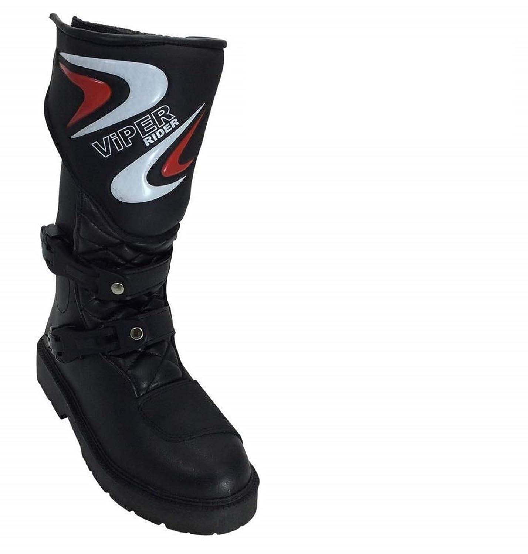 Viper K156 Kids Motocross MX Boot Black 37//4