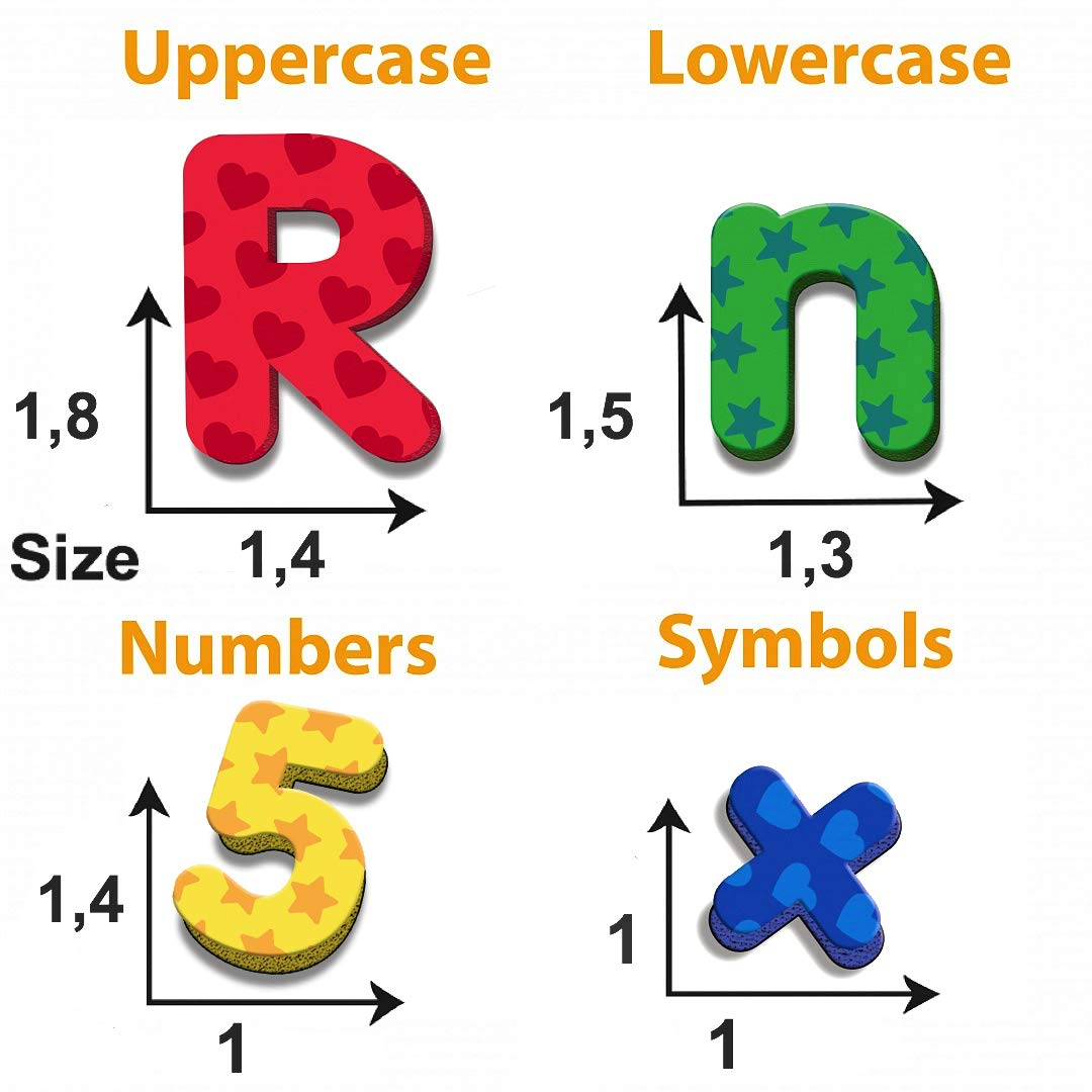 ghdonat.com Toys & Games Magnetic Letters & Words Alphabet magnets ...
