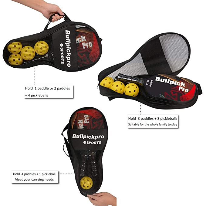 Amazon.com: Bullpickpro – Mochila con soporte para píllebbol ...