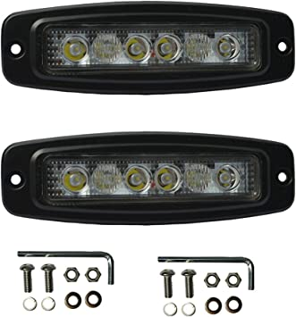 "Wiring 2pcs 4/"" 80W Work Lights CREE Spot LED Light Bar Reverse off-road 4WD"