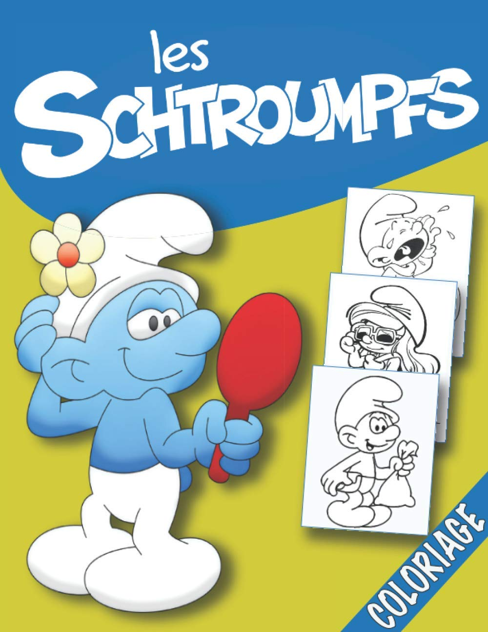 Les Schtroumpfs Coloriage L Arrivee De La Schtroumpfette French Edition Publisher Azf 9798683834388 Amazon Com Books