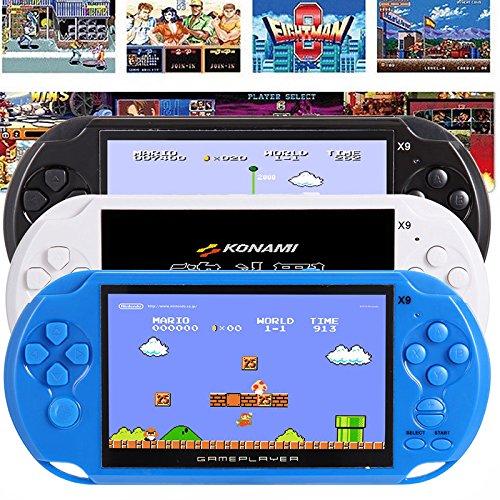 RONSHIN Handheld Portable Retro Game Console Video MP3 Player Camera Kids