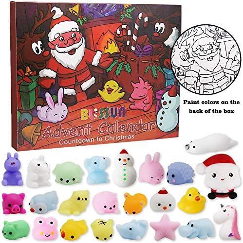 [해외]ATDAWN Christmas Countdown Advent Calendar24 Squishy Toys / ATDAWN Christmas Countdown Advent Calendar24 Squishy Toys