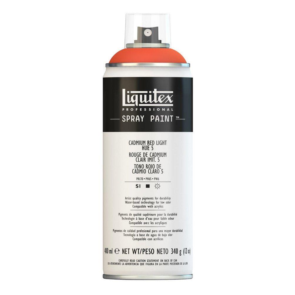 Liquitex プロフェッショナル スプレーペイント 12オンス 400ml Can レッド 4455510 B008N7HCIA Cadmium Red Light Hue 5 Cadmium Red Light Hue 5