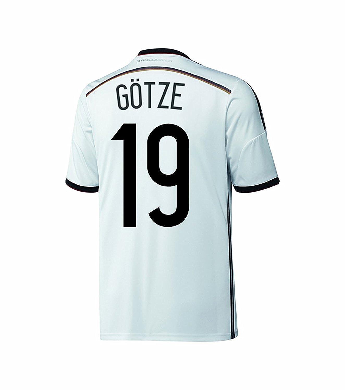 fdbaa0ebaa7 Amazon.com  adidas Gotze  19 Germany Home Jersey World Cup 2014 Youth.  (YXS)  Clothing