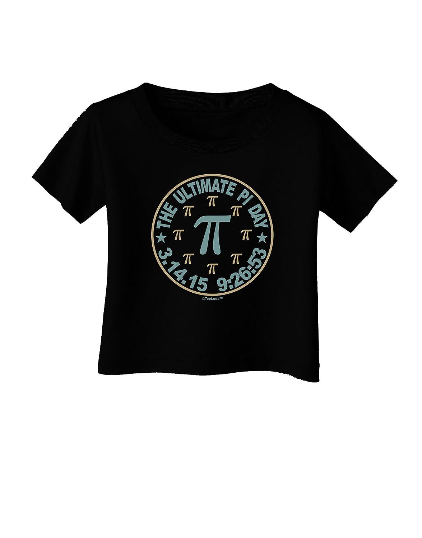 TooLoud The Ultimate Pi Day Emblem Infant T-Shirt Dark