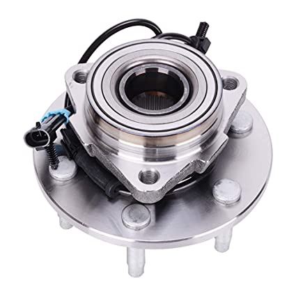 515036 front wheel bearing and hub assembly 6 lug w/abs 4wd/awd fit