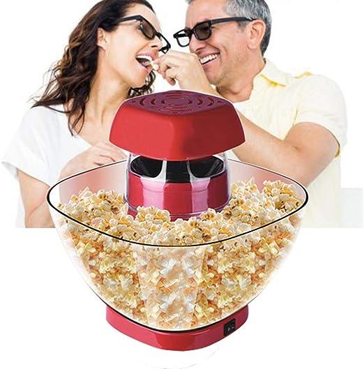 M.Y Palomitero Maquina Palomitas de Maiz, 1200W Automática Popcorn ...