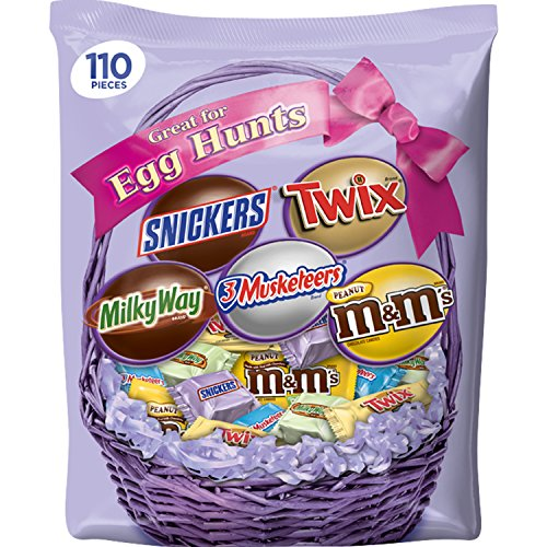 MARS Chocolate Easter Candy Spring Variety Mix 34.98oz 110pc Bag Deal (Large Image)