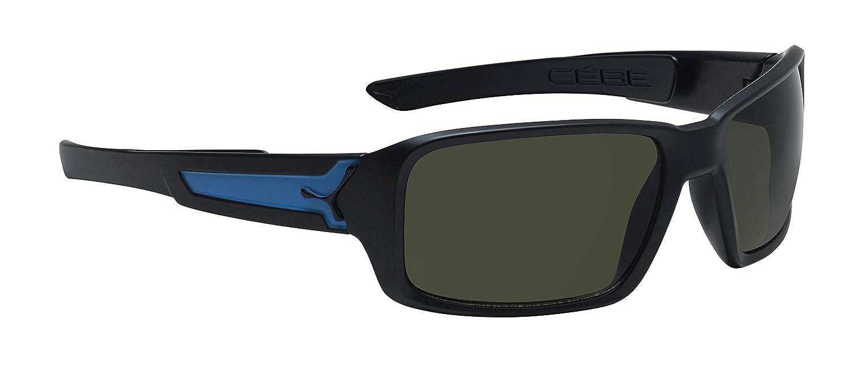 Amazon.com: Cebe cbskat2 Negro Mate/Azul Skate Wrap anteojos ...