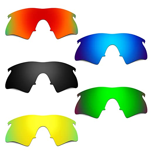 5569648234 Hkuco Mens Replacement Lenses For Oakley M Frame Heater Red Blue Black 24K