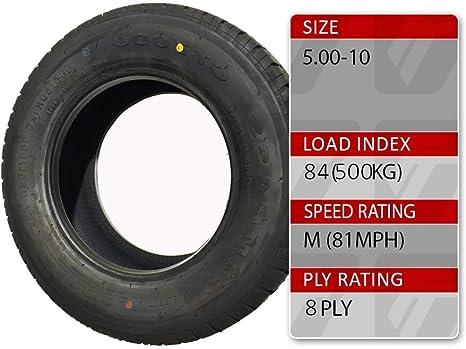 Amazon Fr Trident 5 00 25 4 Cm Pouce 84 M Remorque Roue