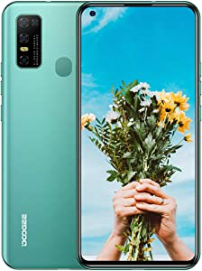 DOOGEE N30 4G Unlocked Phones (4GB+128GB), Octa-core Android 10 OS, 6.55