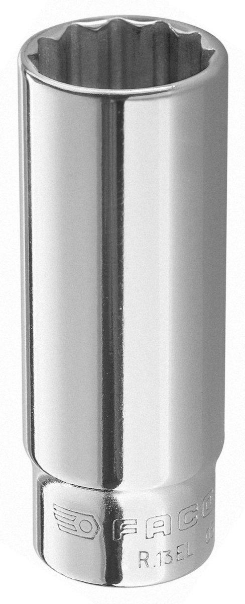 Facom R.7EL-Douille 1/4 Longue 12C 7 Mm