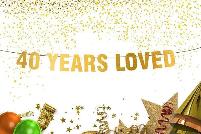 60 years loved banners,50 years loved banners,40years loved banners,birthday banner,Years loved banner,60th birthday banner,Rose gold Banner
