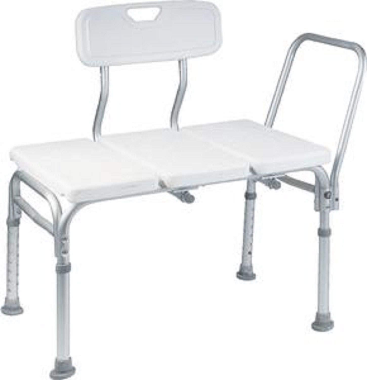 Heavy Duty Bath Tub Shower Transfer Bench Stool Shower Chair by 702 store