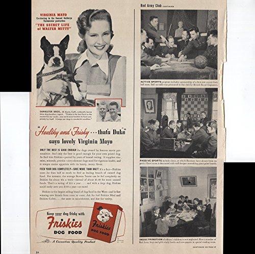 Friskies Dog Food Virginia Mayo Healthy And Frisky That's Duke Boston Terrier Dog