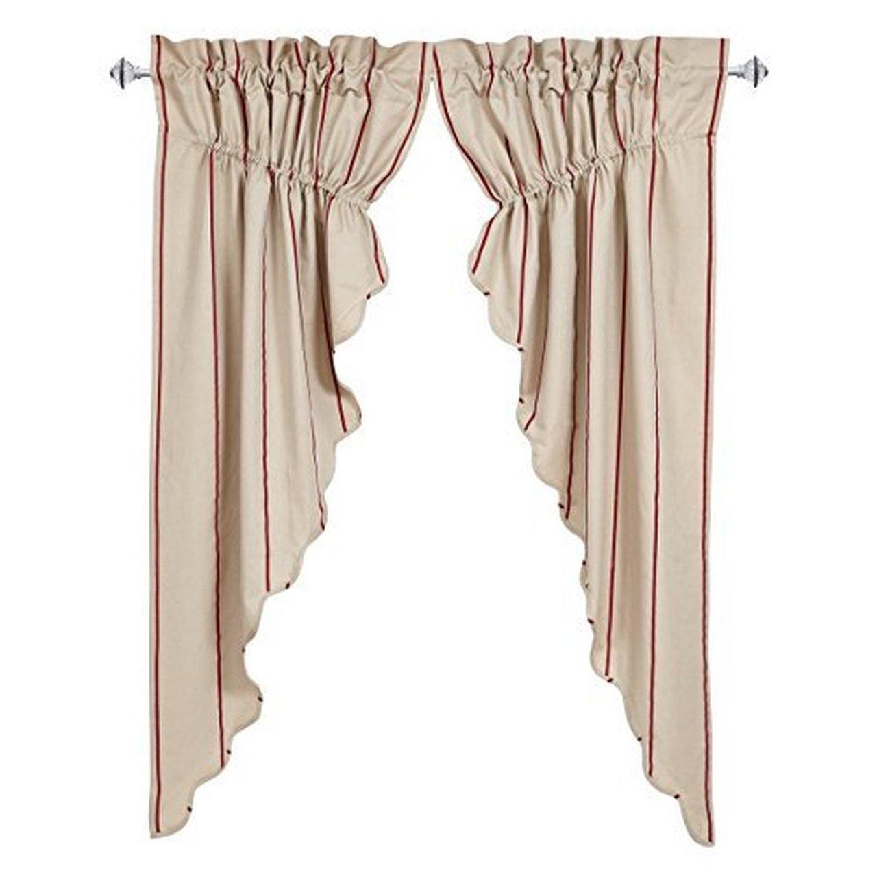 VHC Brands Charlotte Sham by (Prairie Curtain Set of 2)