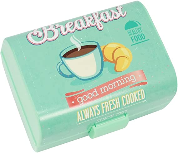 COM-FOUR® caja de desayuno vintage