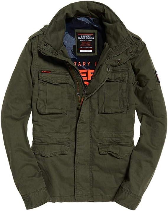 Superdry Veste Classic Rookie 4 Pocket Jacket Nuj: