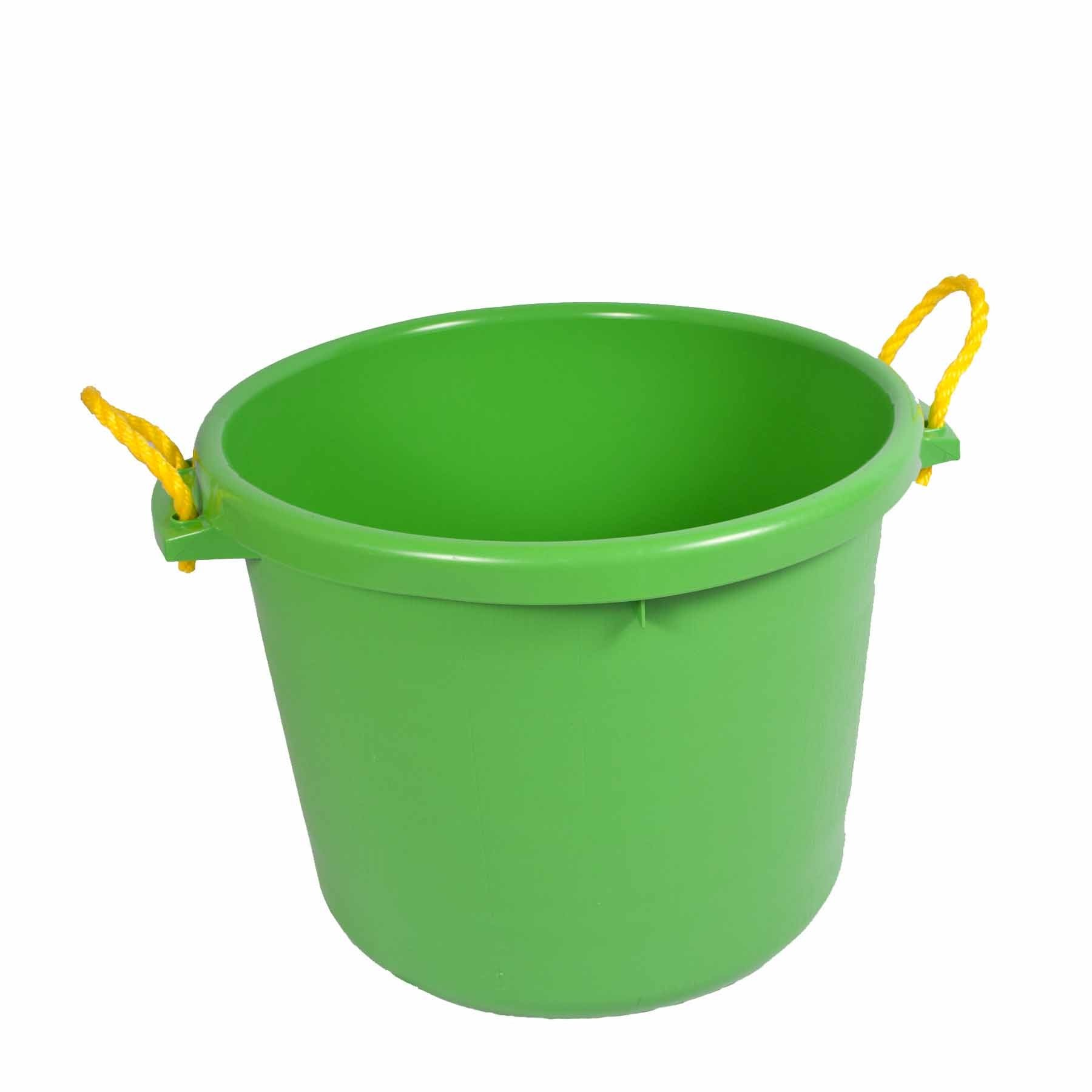 Fortiflex Multi-Purpose Storage Bucket for Dogs/Cats and Horses, 70-Quart, Mango Green by Fortiflex