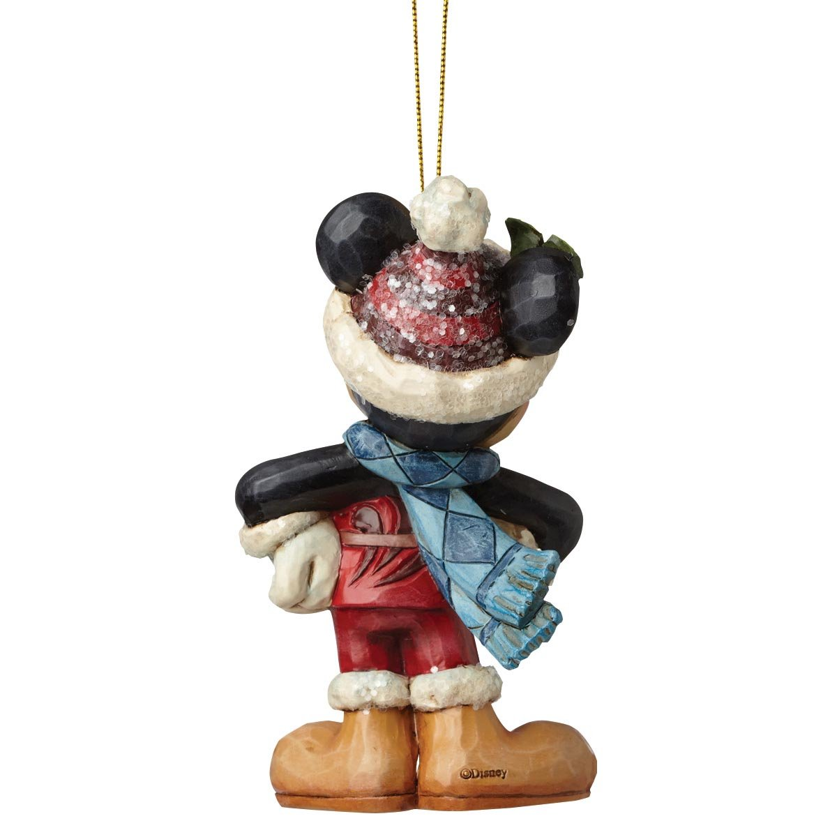 Disney Traditions Mickey Mouse Hanging Ornament Figure Enesco A28239
