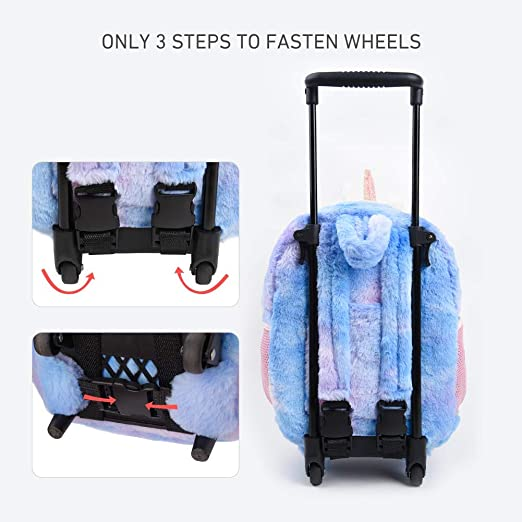 Amazon.com: Funday Mochila infantil con ruedas para niños y ...