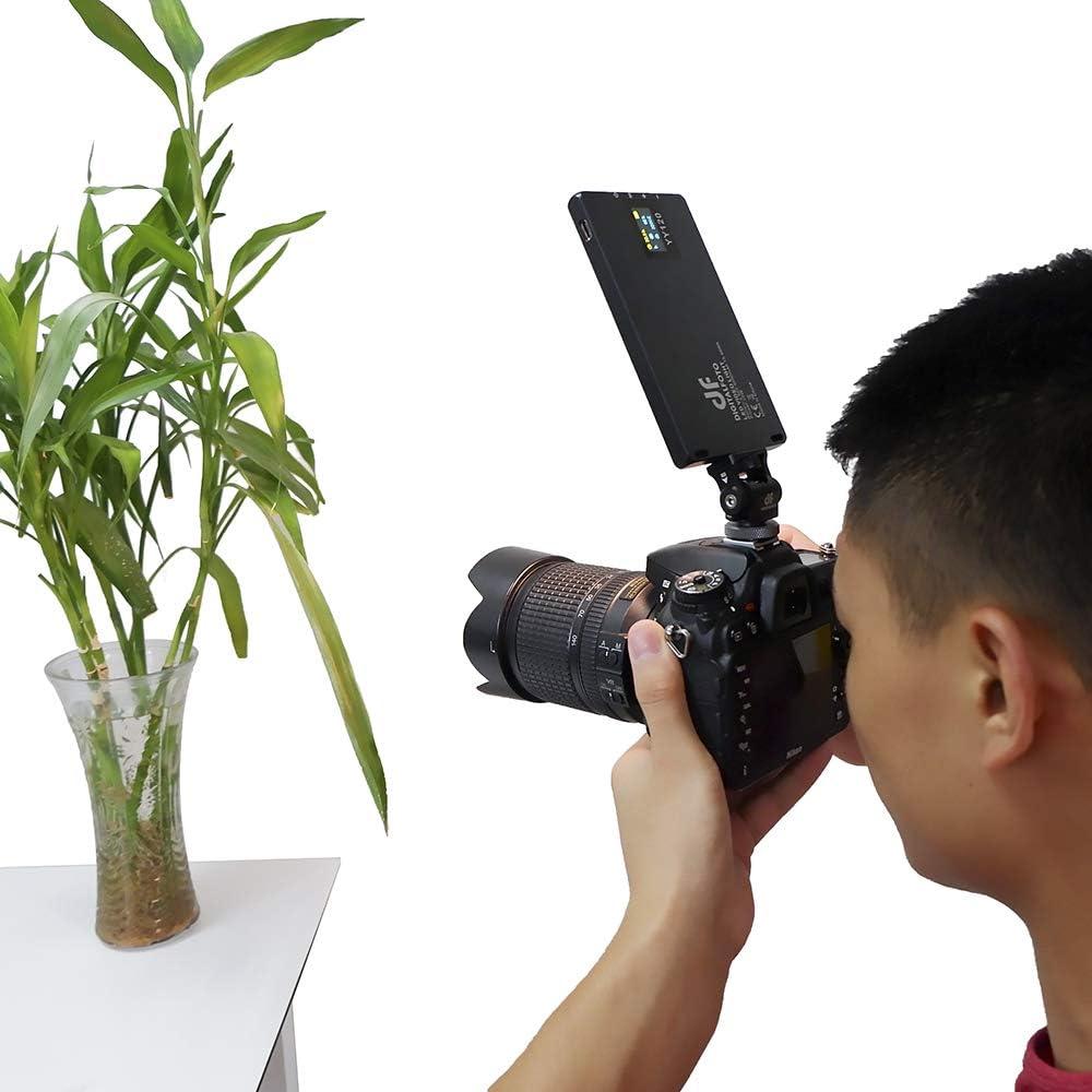 Control de aplicaci/ón 37 Efecto RGB 3000k-6500K Luz de Relleno Bater/ía incorporada Chameleon Pocket Panel de luz LED RGB vlogging Video EN Vivo Luz de Estudio fotogr/áfico de Youtube