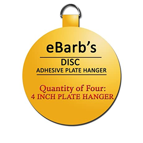eBarbu0027s u0026quot;The Originalu0026quot; English Plate Hanger Disc Kit--Quantity of FOUR  sc 1 st  Amazon.com & eBarbu0027s