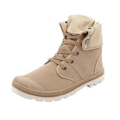YU'TING ☀‿☀ Unisex Traspirante Stringata Sneakers Alte ...