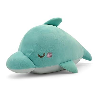 Amazon.com  sunyou Dolphin Soft Plush Pillow - Animal Stuffed Toy ... 4214896f6b