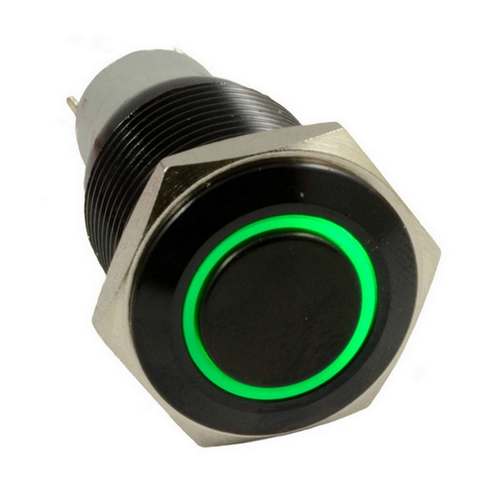 61HdhNxeMOL._SL1000_ amazon com e support™ 16mm 12v 3a car green led light angel  at edmiracle.co