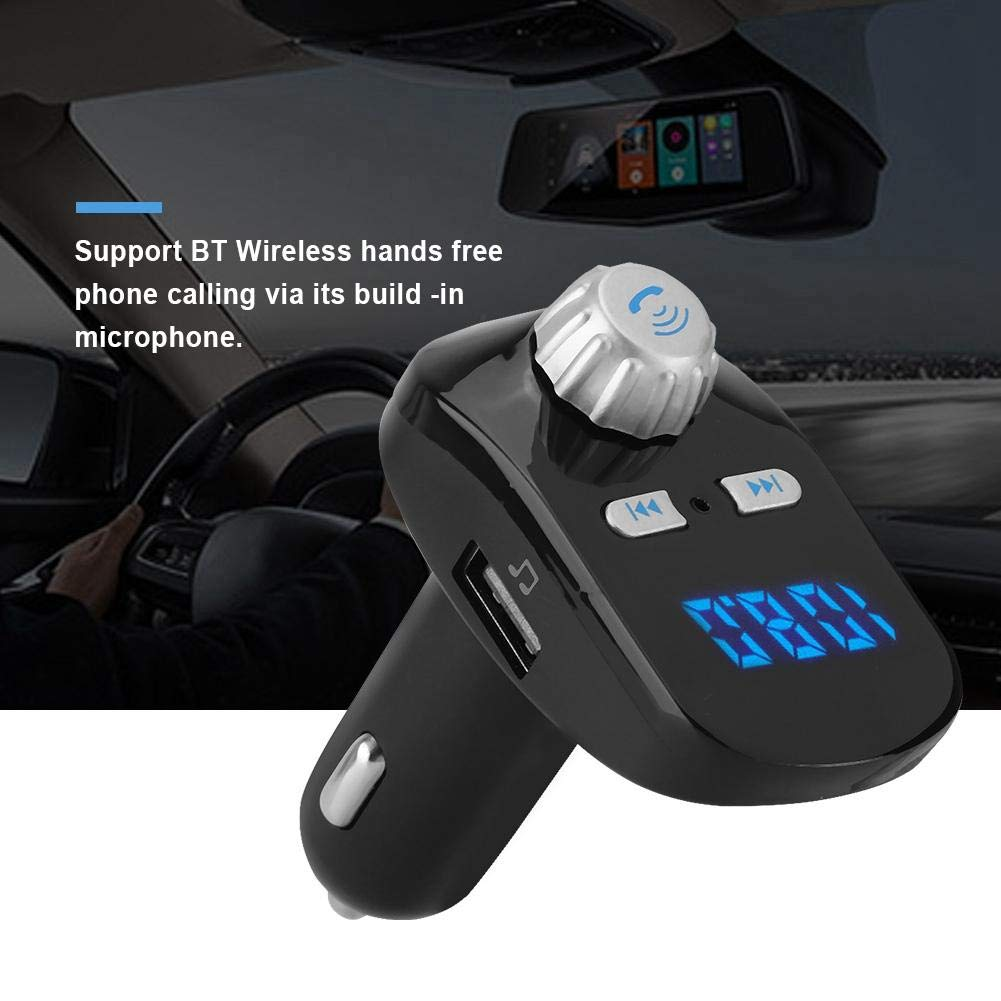 Mugast Car MP3 Player,G95 Car MP3 FM Full-Band Wireless Transmission Bluetooth Player Support Mobile's A2DP Function Bluetooth Wireless Hands Free Phone Calling by Mugast (Image #4)
