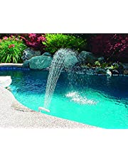 Poolmaster 54507 Spa and Swimming Pool Waterfall Fountain, For Pools with 1.5-Inch Threaded Return Fitting