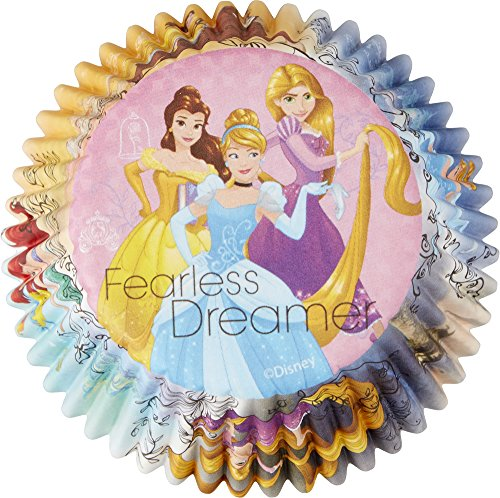 Wilton 415-7490 Disney Princess Standard Baking Liners Assorted