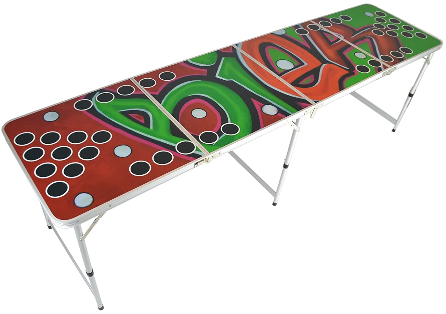Beer pong tisch premium graffiti design beer pong for Beer pong tisch eigenes design