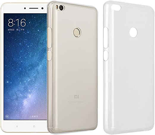 RIFFUE Funda Xiaomi Mi MAX 2, Flexible TPU Ultra Suave Silicona ...
