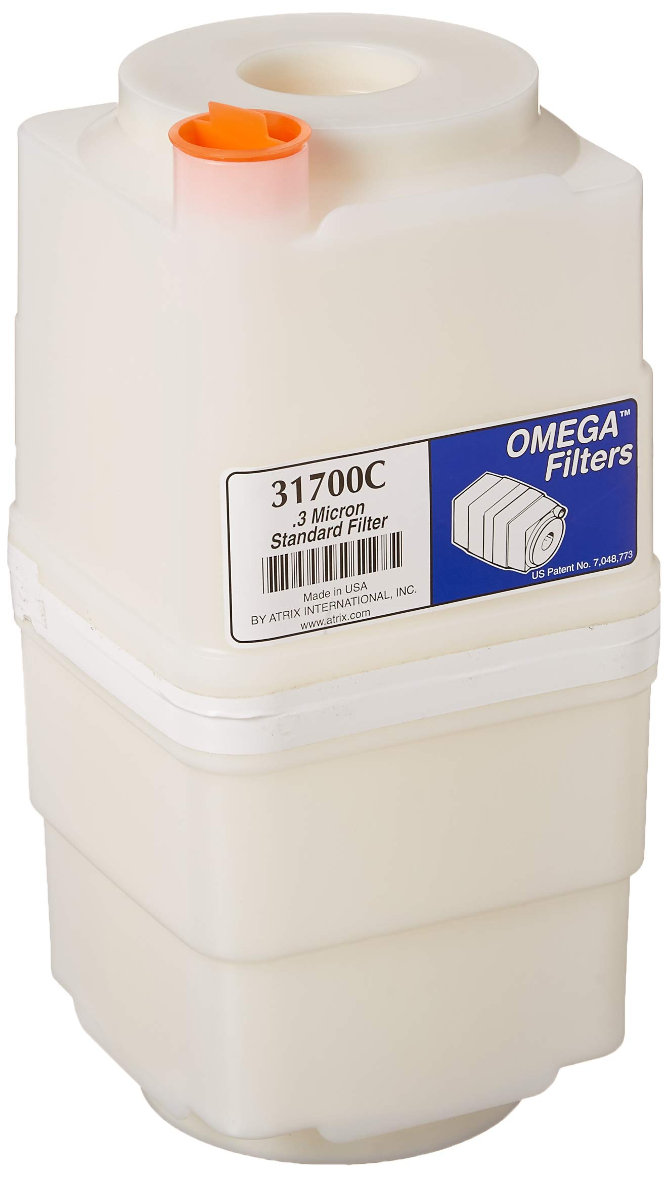 Atrix - 31700 Toner and Dust Filter Cartridge for Omega Series, 1-Gallon by Atrix