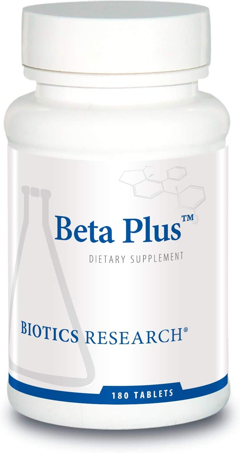Biotics Research Beta-Plus Nutritional Support for Bile Production, Supports Overall Liver Function. Aids in Fat Digestion. Supplies Betaine Organic Beet Concentrate 180 Count