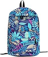 Top Sales Teenage's Backpack,ZYooh Fashion Leaves Printed School Backpack Canvas Shoulder Traveling Bag