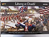 Black Powder Revolutionary War Liberty or Death Set 1:56 Military Wargaming Plastic Model Kit