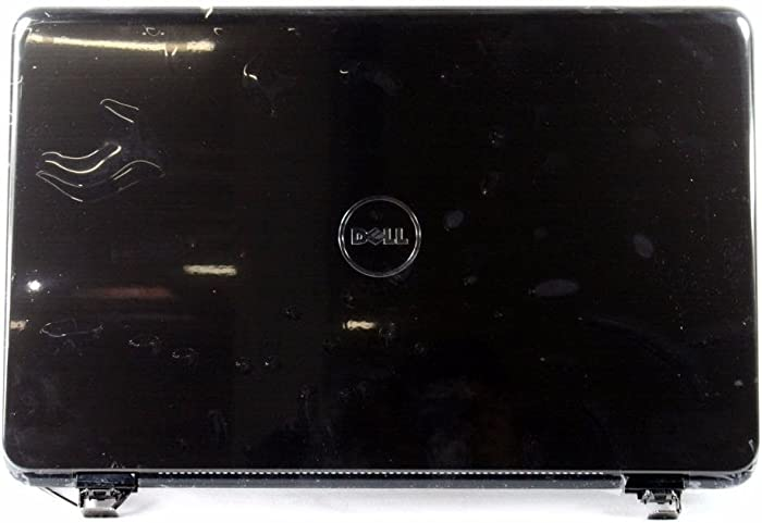 "YVTPC - Dell Inspiron 17R (N7010) 17.3"" LCD Back Cover Lid Plastic with Hinges - YVTPC -Grade A"