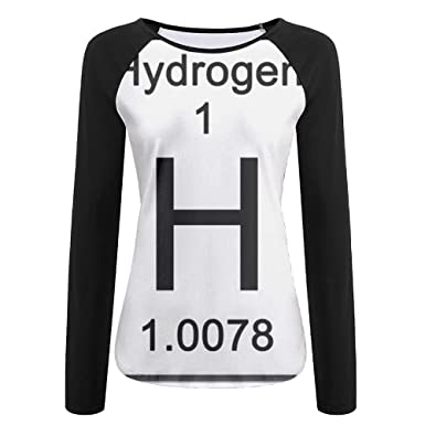 Amazon Sesy 3d Print H Chemical Element Symbol Hydrogen Long