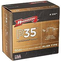 Arrow Fastener 356 Genuine P35 3/8-Inch Staples, 5, by Arrow Fastener