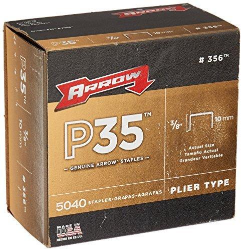 Arrow Fastener 356 Genuine P35 3/8-Inch