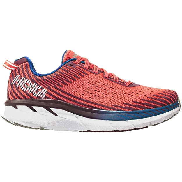 Hoka One One Clifton 5 Womens - Emberglow Fig - 4.5 UK: Amazon.es ...