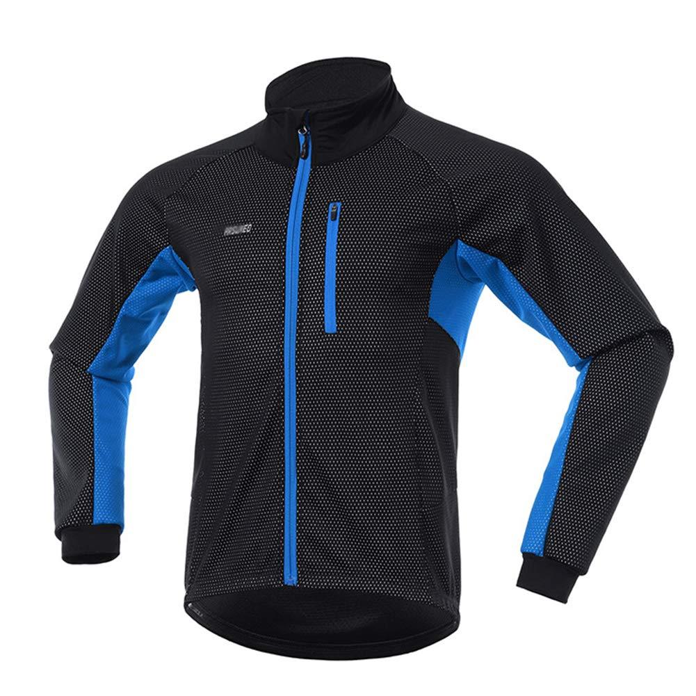 QWERT Winter Thermal Radjacke Set windundurchlässige wasserdicht Warm Bike Jacke MTB Hose Fahrrad Anzug einen.Kreislauf.durchmachenClothing