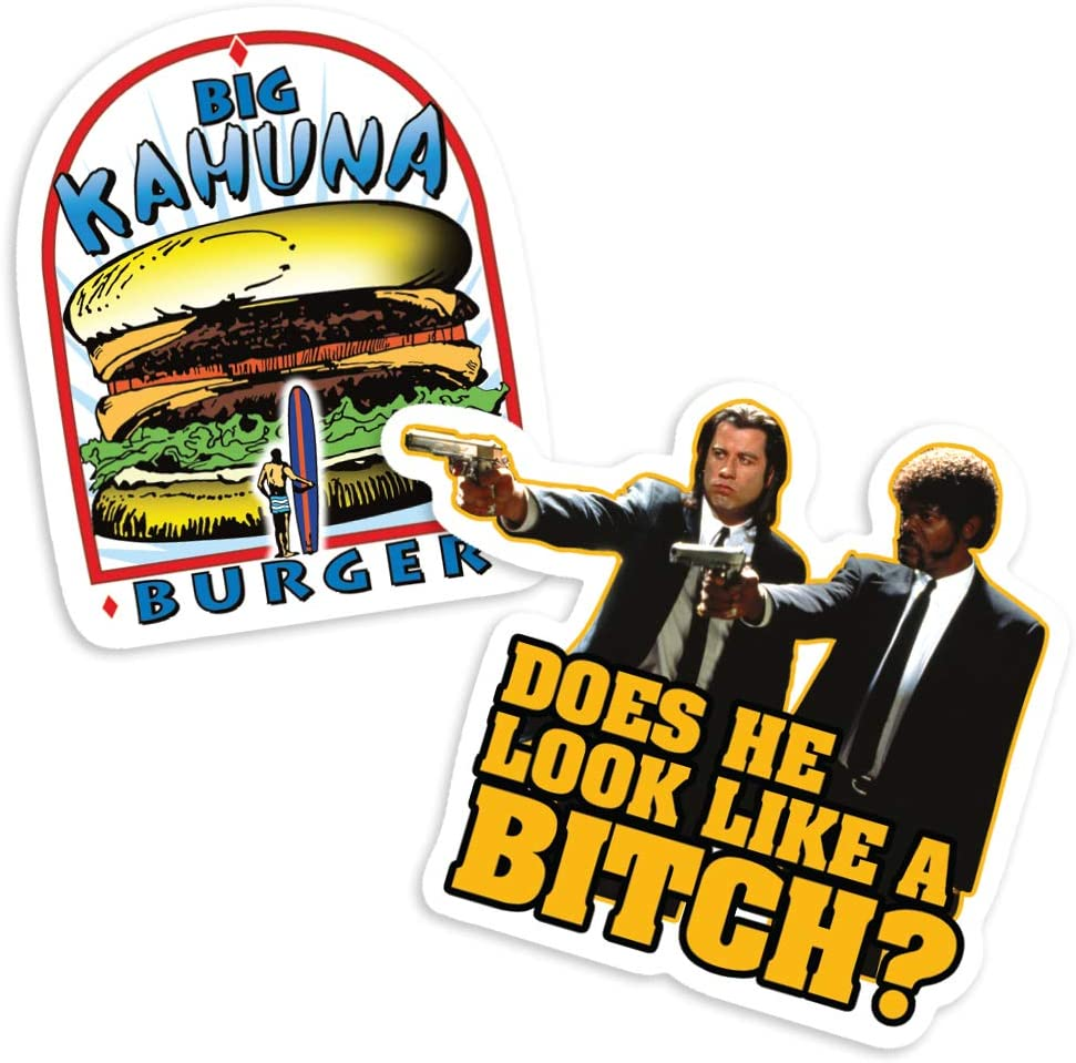 Pulp Fiction Big Kahuna Burger embroidered Logo Patch 3 1//2 inches wide