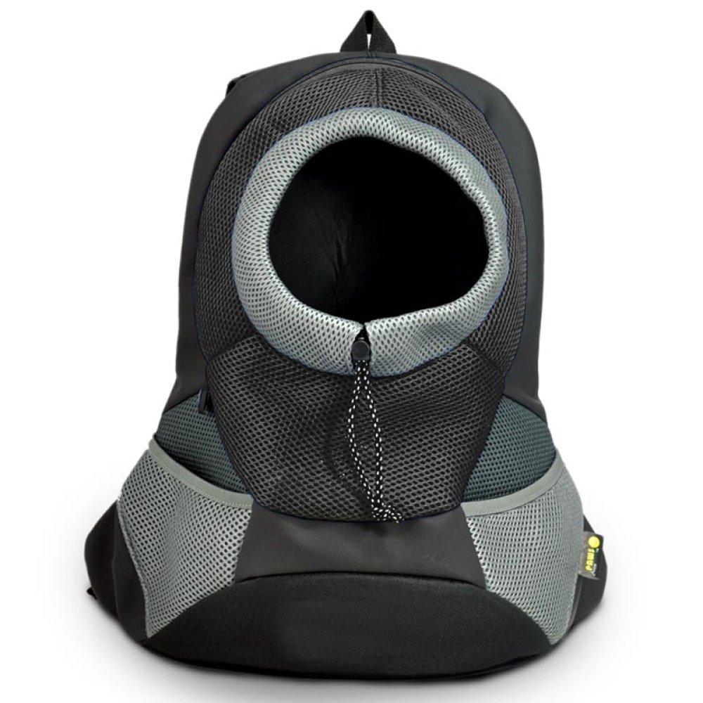 Grey LargeAYCC Pet Carrier, Breathable Shoulders, Pet Puppy Backpack, Cat Carrier Bag, Travel Pet Bag,GreenS